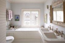 Дизайн ванной комнаты в светлых тонах: 40 идей