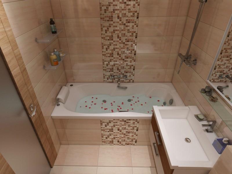Каким должен быть дизайн ванной в хрущевке