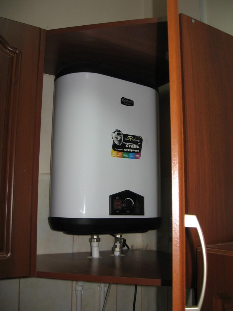 Выбор и установка водонагревателя под раковину