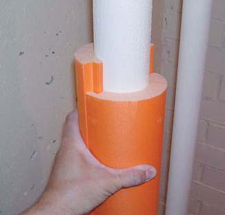 Как сделать утепление водопровода в частном доме своими руками