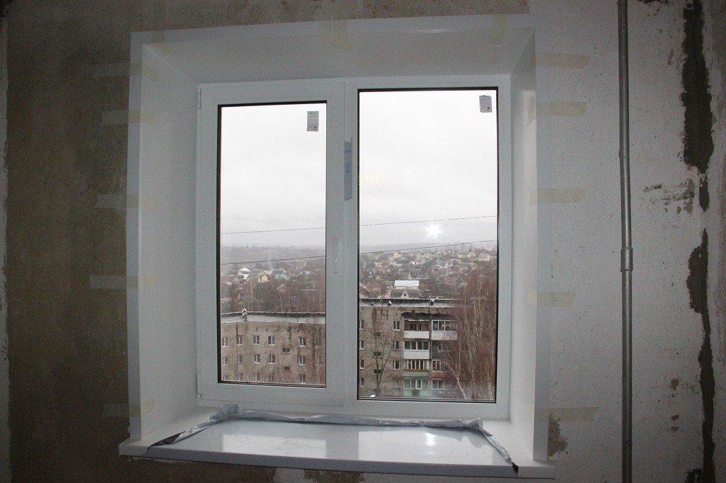 меняем окно