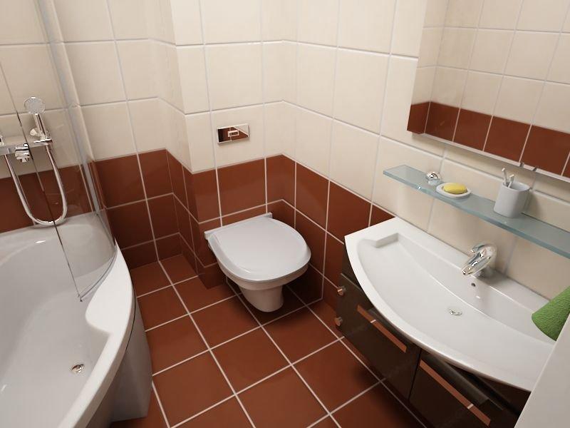 Скрытые трубы в ванной