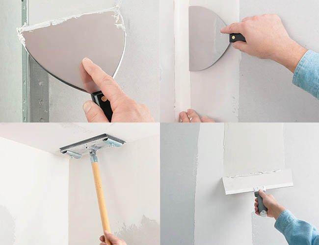 проверка стен перед поклейкой обоев