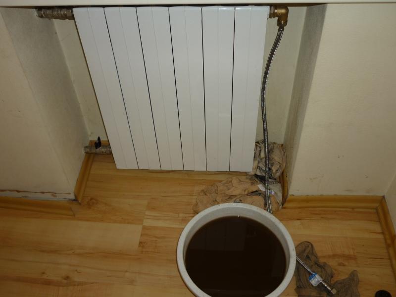 промывка радиатора отопления