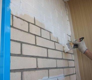 приступаем к покраске стены