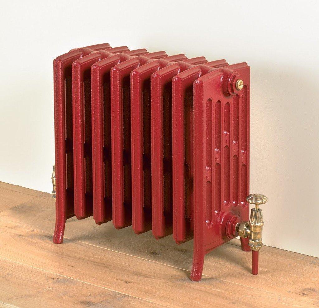 красный радиатор