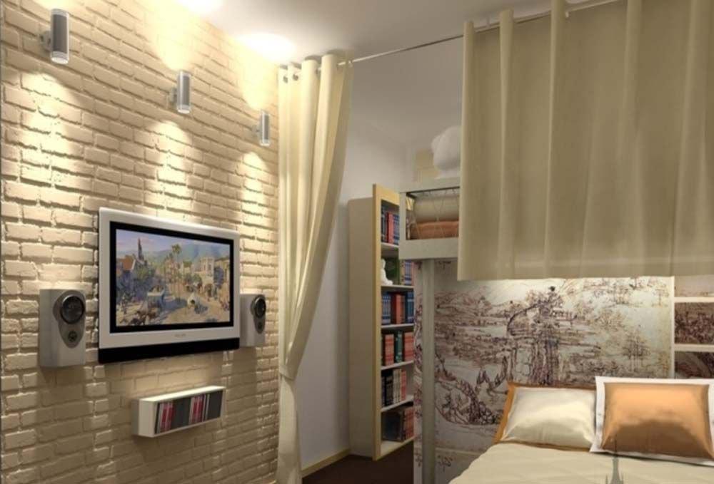 краска для кирпичной стены в комнате