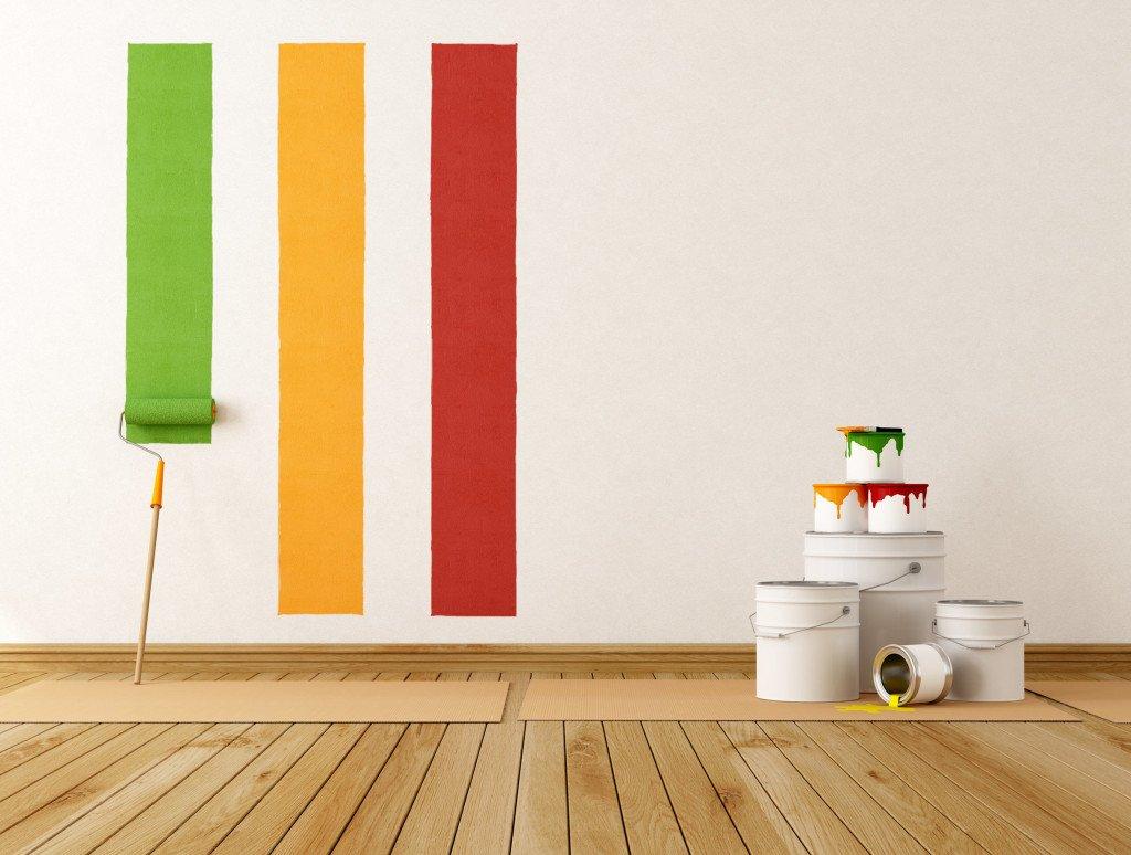 покраска стен цена