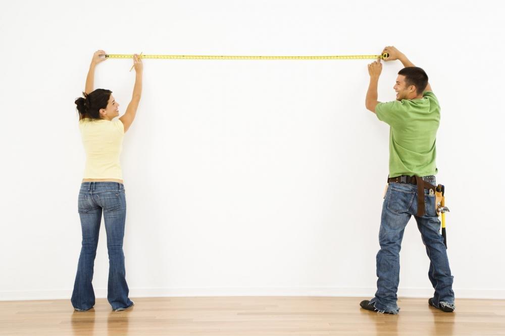 измеряем стены