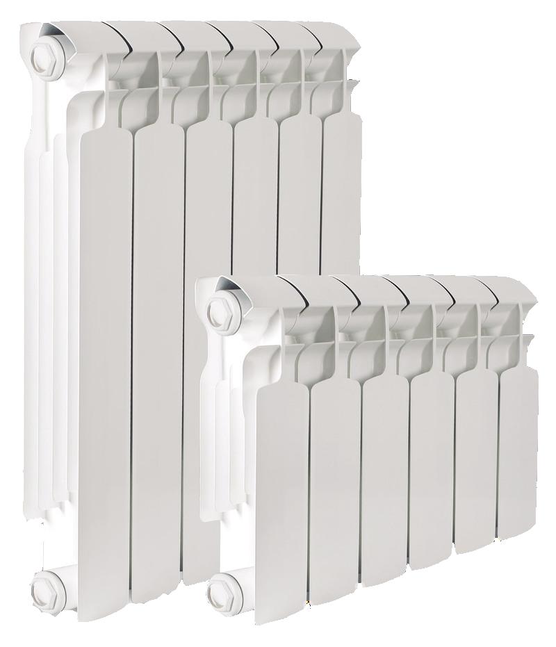 2 биметаллических радиатора
