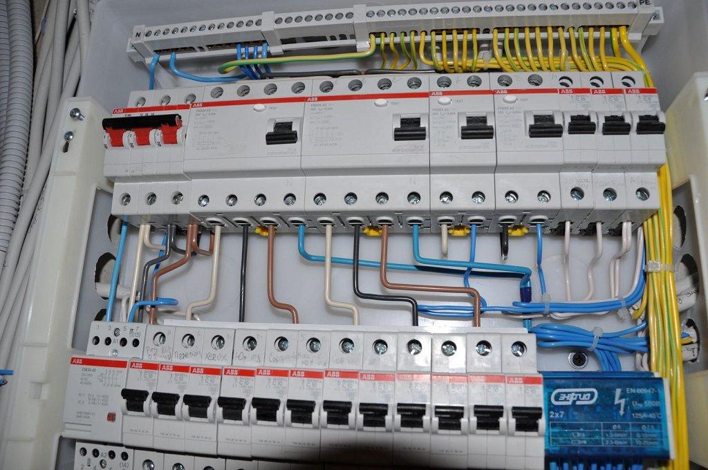Подключить узо и автомат схема