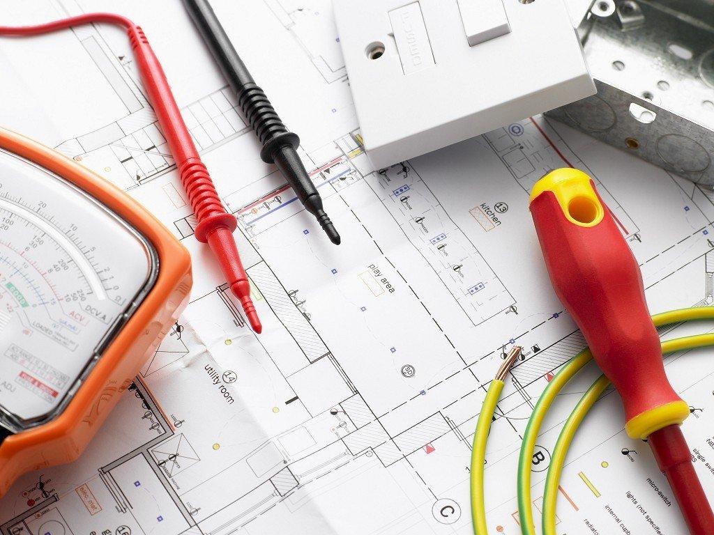 инструменты и план электропроводки