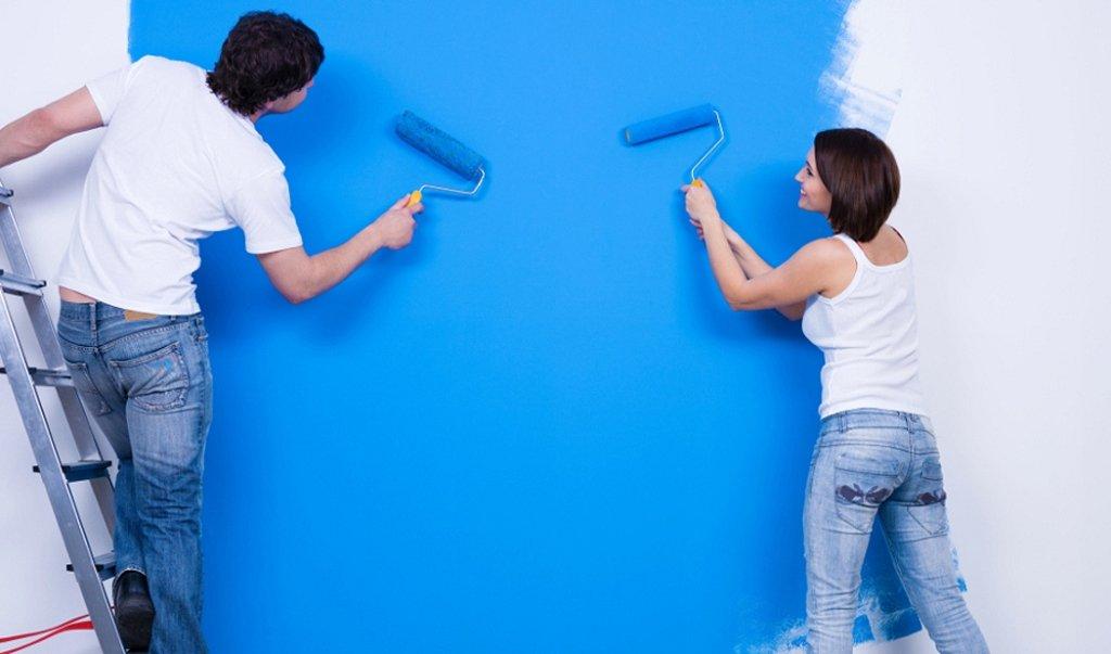 краска водоэмульсионная для стен и потолков с доставкой