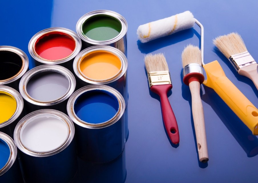 выбор красок