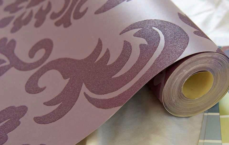 виниловые обои на бумажной основе