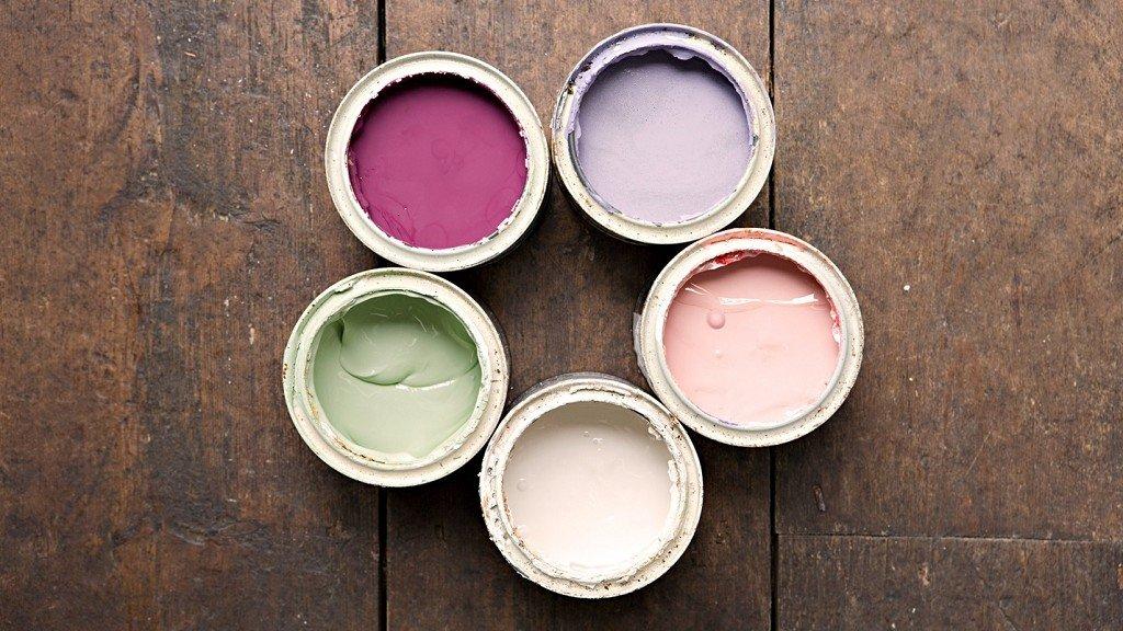 краски разных цветов