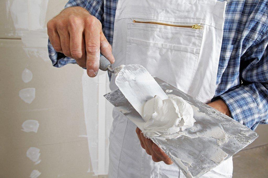 подготовка шпаклевочной смеси