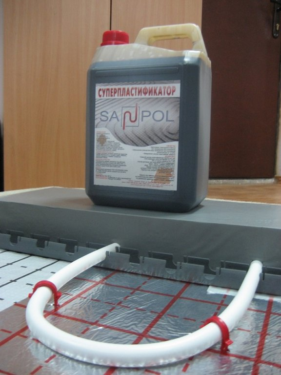 пластификатор для стяжки
