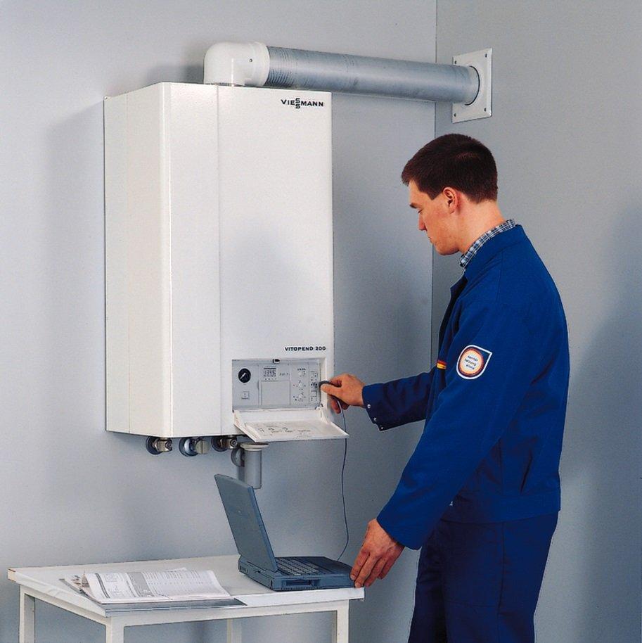Процесс установки системы отопления