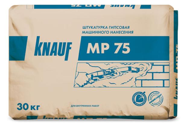 Штукатурка гипсовая Knauf MP 75