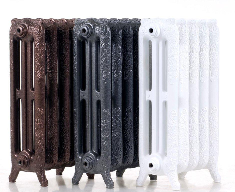 чугунные радиаторы разных цветов