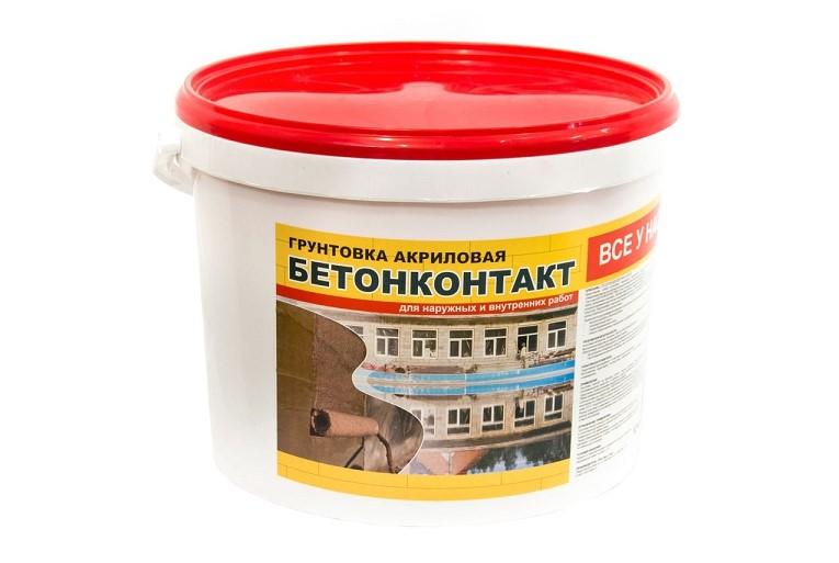 грунтовка бетон контакт