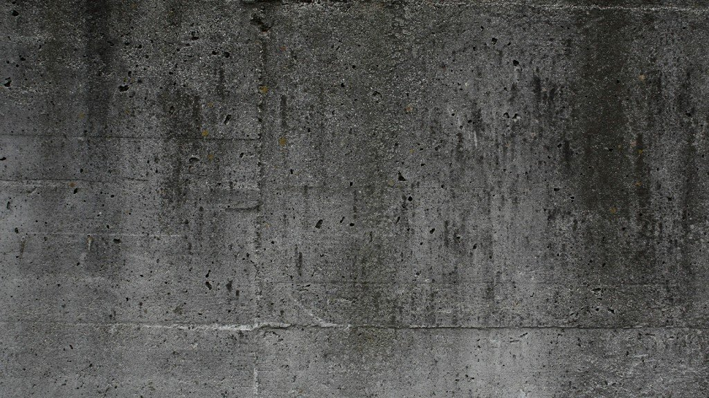 стена бетонная
