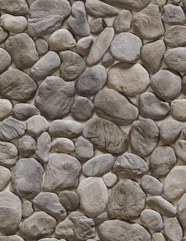 бутовый декоративный камень серый