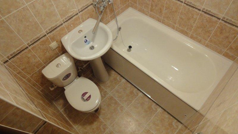 экономный ремонт в ванной