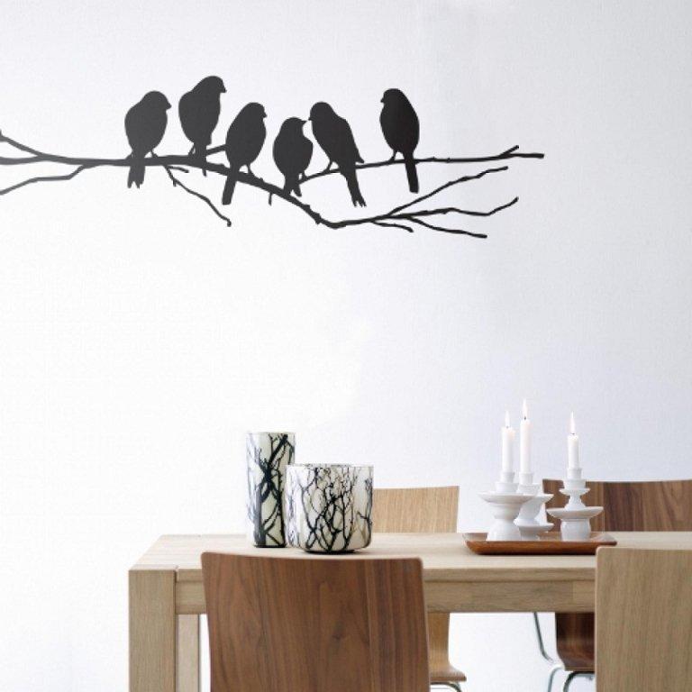 декоративный рисунок на стене