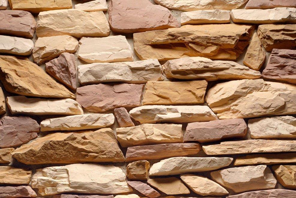 колотый декоративный камень