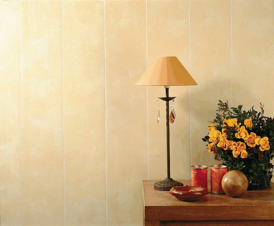 крепление тонких ПВХ панелей на стену в комнате