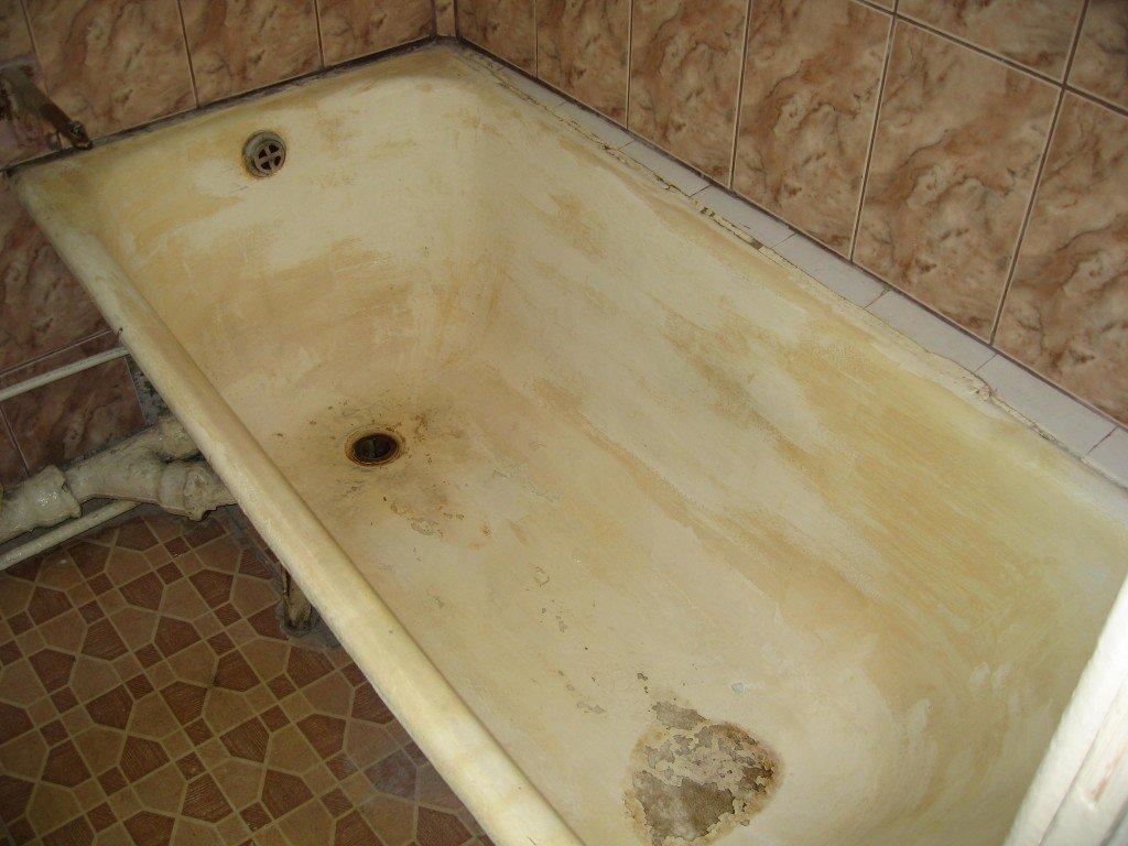 сколы на ванне