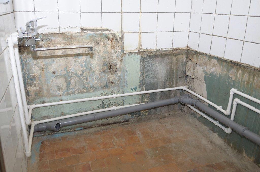 Разводка канализационных труб в ванной и туалете своими руками 203