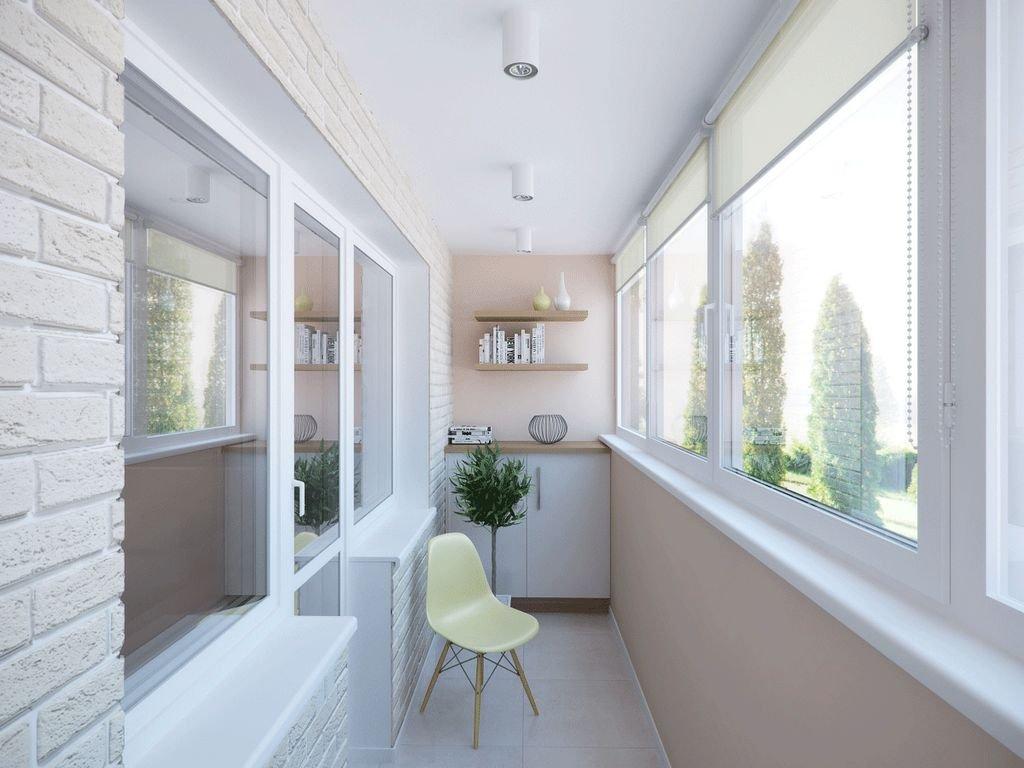 Внутренняя отделка балкона: варианты.