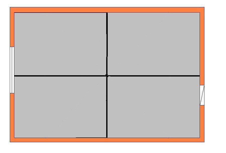 разметка потолка для укладки плитки