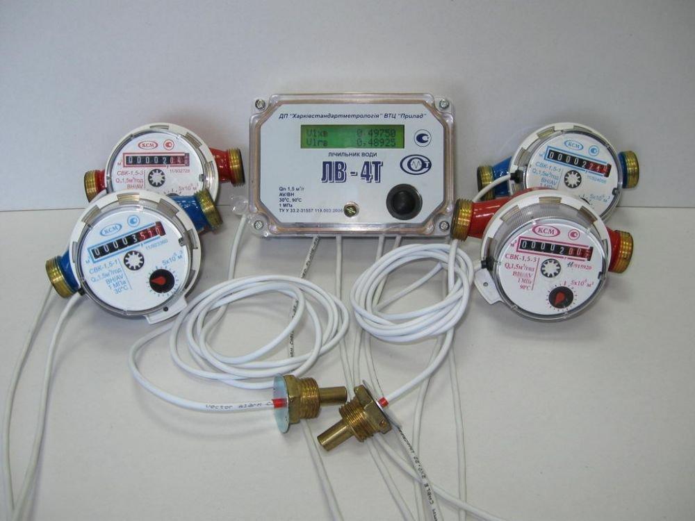 Электронные счётчики воды