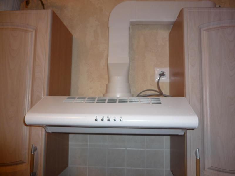 кухонная вытяжка с подключением к вентиляции