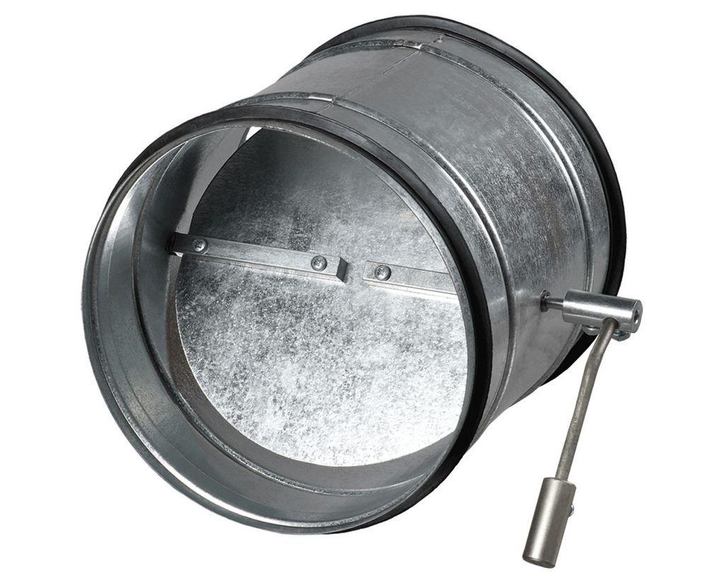 обратный клапан круглый
