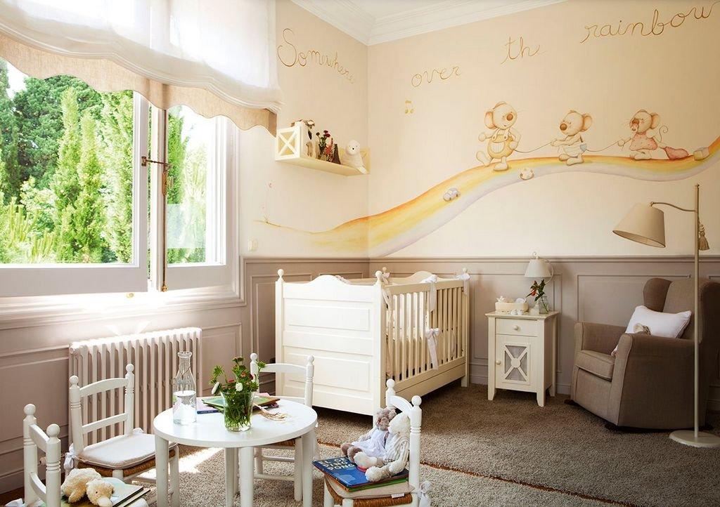 персиковый цвет для детской