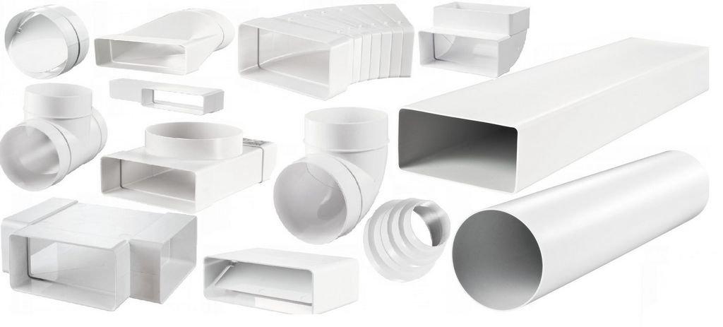 пластиковые воздуховоды для кухонной вытяжки