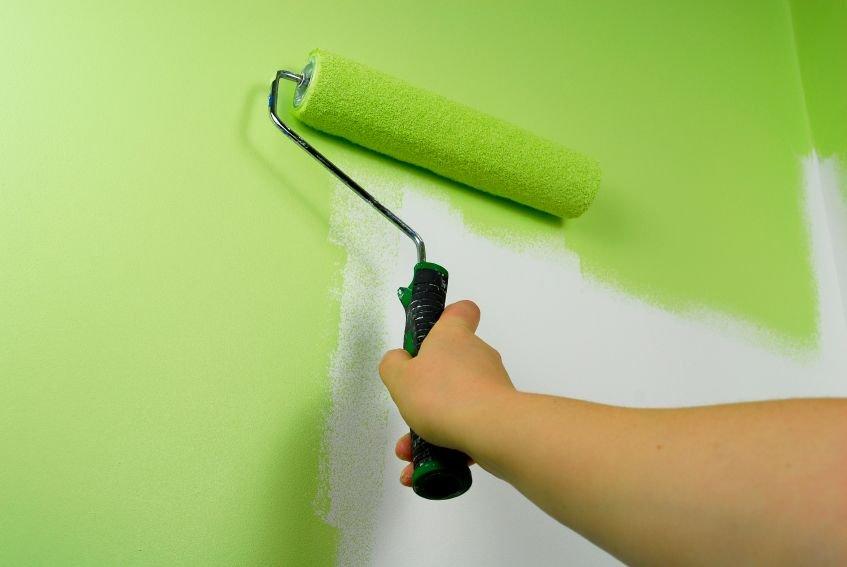 покраска стен из ГКЛ