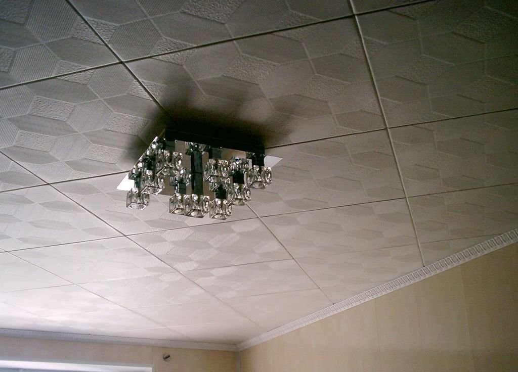 Inexpensive ceiling tiles