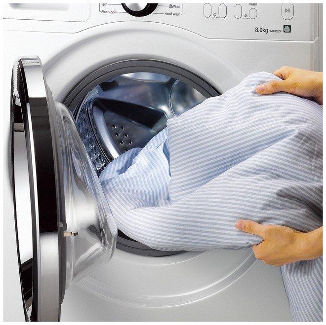 Для работы стиральной машины требуется 2 атмосферы