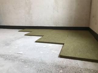 Укладка шумоизоляционных плит