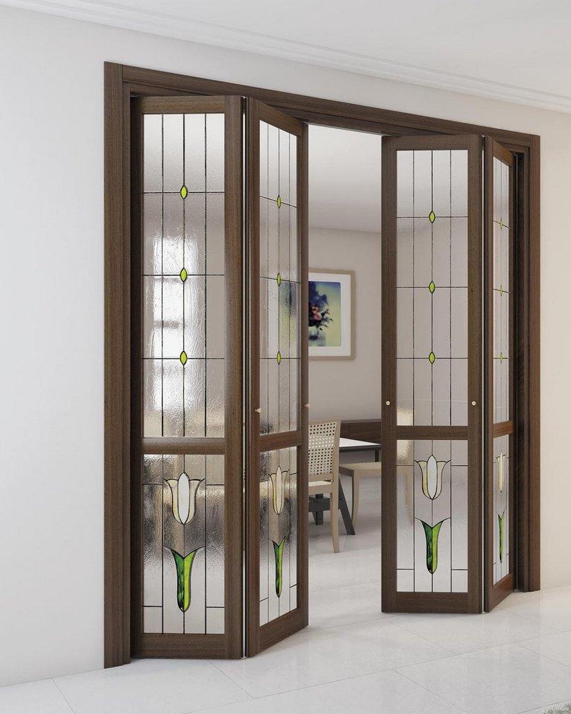Комбинированная дверь