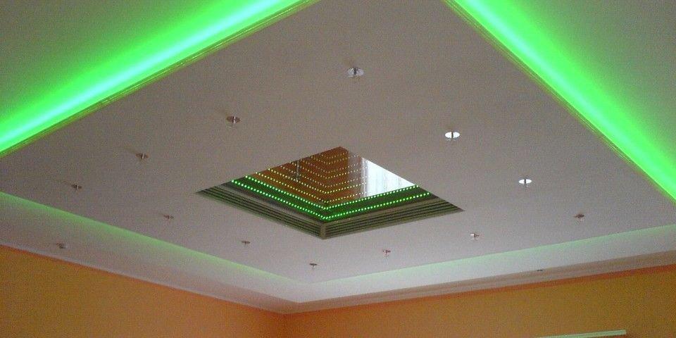 лента по периметру потолка