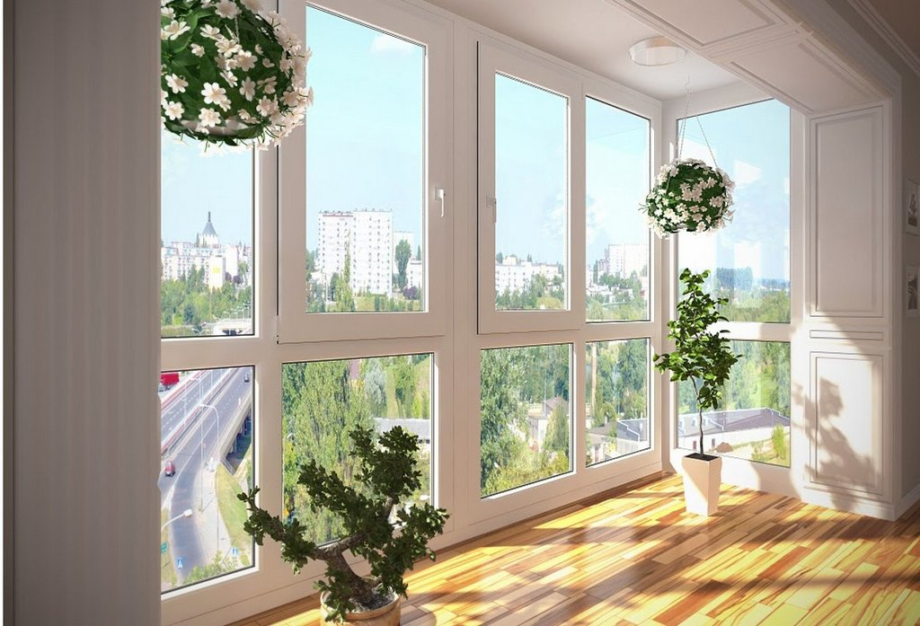 Окна ПВХ в квартире