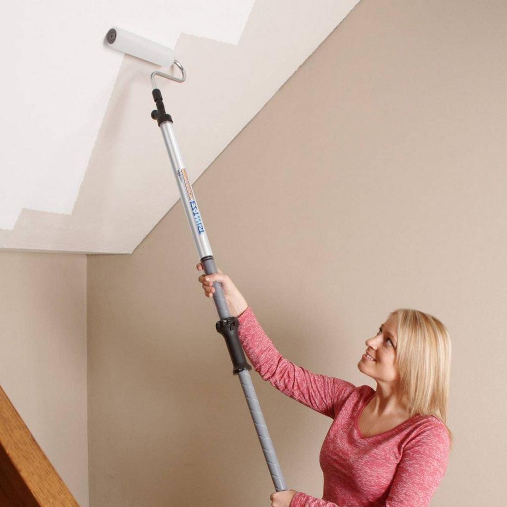 повторное окрашивание потолка