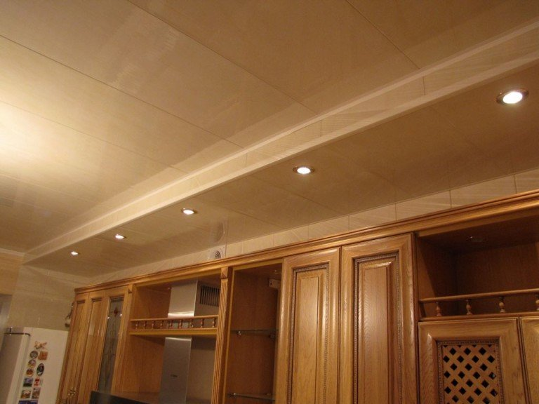 Потолки для кухни своими руками 852